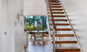 Kiah Beachside - Belongil Beach - Byron Bay - stair case