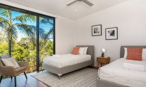 Kiah Beachside - Belongil Beach - Byron Bay - twin bedroom