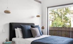 Kokos Beach House 1 - Byron Bay - Master Bedroom Poolside