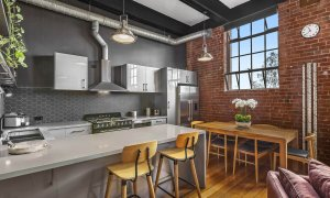 Loft on Rose - Fitzroy - Kitchen and Dining c