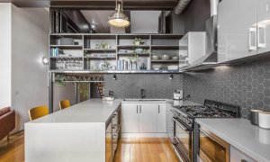 Loft on Rose - Fitzroy - Kitchen c