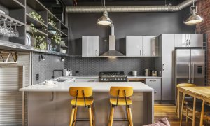 Loft on Rose - Fitzroy - Kitchen