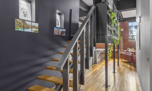 Loft on Rose - Fitzroy - Staircase to Loft Bedroom