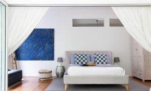Mahalo House - Byron Bay - Entertaining Deck Looking Into Bedroom 5b