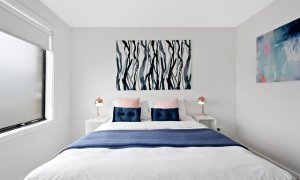 Manallack Apartments Boyd - Melbourne - Queen Bedroom