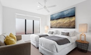 Manallack Apartments Boyd - Melbourne - Twin Single Room 1