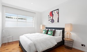 Manallack Apartments Olley - Melbourne - Queen Bedroom