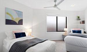 Manallack Apartments Whiteley - Melbourne - Twin Single Bedroom 1