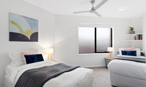 Manallack Apartments Whiteley - Melbourne - Twin Single Bedroom 1