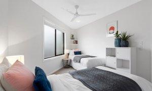 Manallack Apartments Whiteley - Melbourne - Twin Single Bedroom