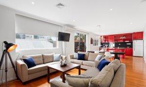 Manallack Studio Olley - Brunswick - Living area and kitchen