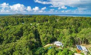 Ourmuli Cabin - Byron Bay - High View to Cape Byron