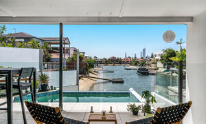 Pacifica - Broadbeach Waters - View from Deck 2