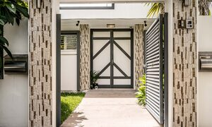 Pacifica - Broadbeach Waters - View from Front Gate