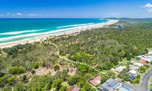 Sea Salt - Byron Bay - Aerial Towards Broken Head