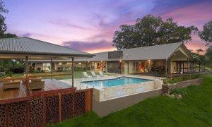 Serene Myocum - Byron Bay - House Pool and Cabana