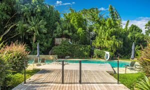 Stone and Grove - Byron Bay - Ewingsdale - deck to pool and waterslide