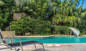 Stone and Grove - Byron Bay - Ewingsdale - waterslide and pool