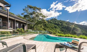 Summer Breeze - Byron Bay - Pool and House b