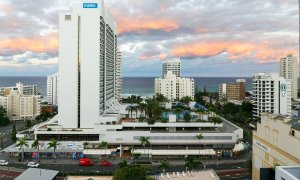 Surf Moon - Surfers Paradise - View from Main Balcony East