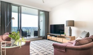 The Fawkner - Melbourne - Living Area b