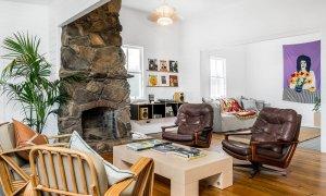 The Harrow - Byron Bay - Bedroom 1 Living Area Looking to Media Room b