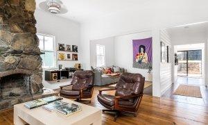 The Harrow - Byron Bay - Bedroom 1 Living Area Looking to Media Room