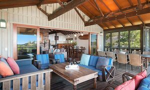 The Hawk - Wategos Byron Bay - Upstairs Balcony towards Inside Living