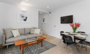 The Lincoln - South Yarra - Living Area Dining Area