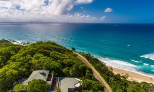 The Palms at Byron - Wategos Beach - Byron Bay - Aerial view