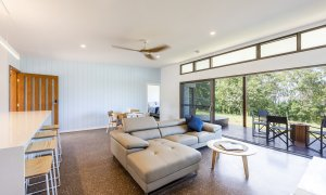 Toad Hall Cottage - Lennox Head - Living Room from Bedroom 1