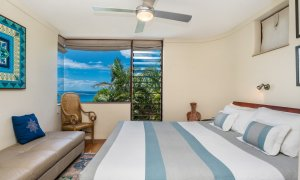 Wategos Retreats Apartment - Wategos Beach - Byron Bay - Apartment Bedroom with Views
