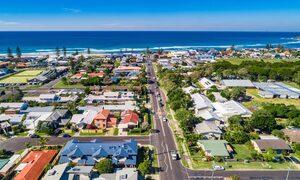 Wave Haven - Lennox Head - Aerial Towards Beach