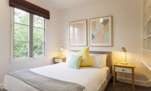 Wellington Mews - East Melbourne - Bedroom