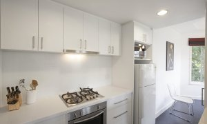 Wellington Mews - East Melbourne - Kitchen Area c