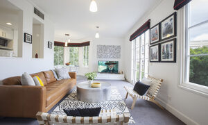 Wellington Mews - East Melbourne - Living Area c