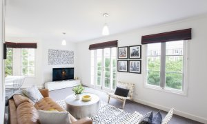 Wellington Mews - East Melbourne - Living Area f