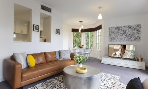 Wellington Mews - East Melbourne - Living Area