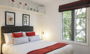 Wellington Mews - East Melbourne - Master Bedroom b