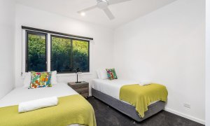 Wollumbin Haus - Byron Bay - Bedroom 3 - Twin room