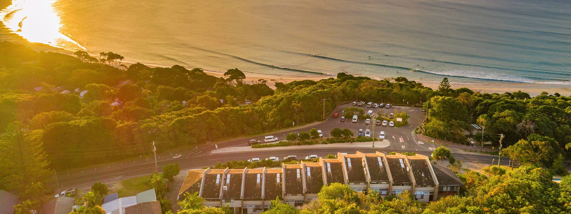 11 James Cook - Byron Bay - Aerial View North of the Bay b