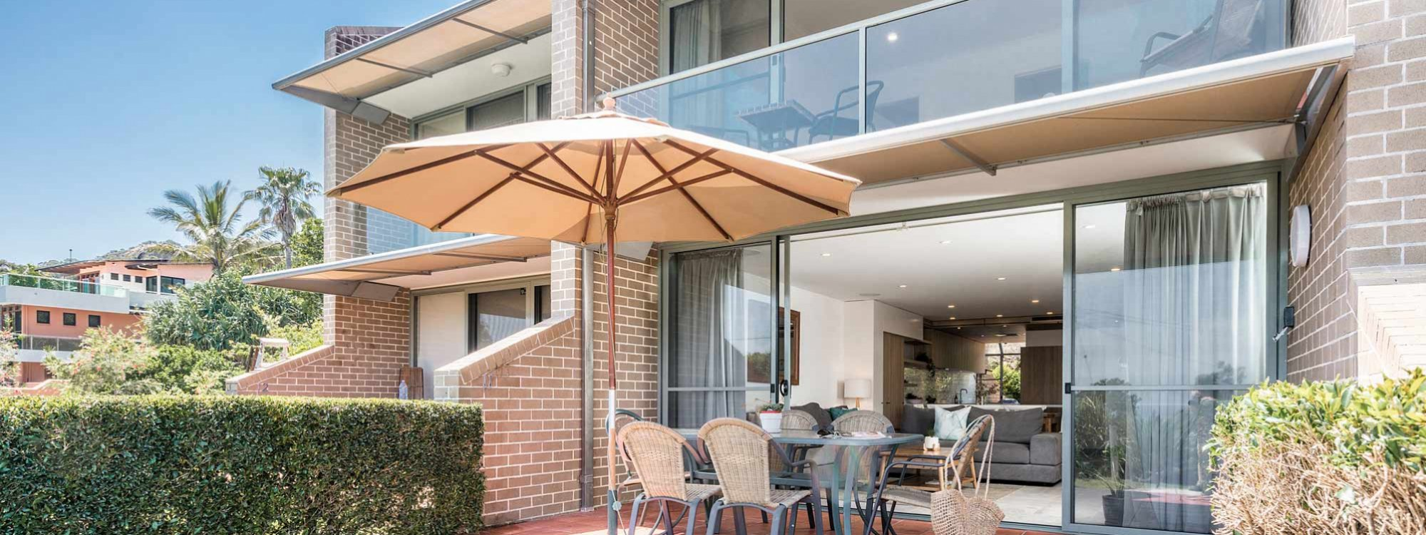 11 James Cook - Byron Bay - Apartment From Front Updated