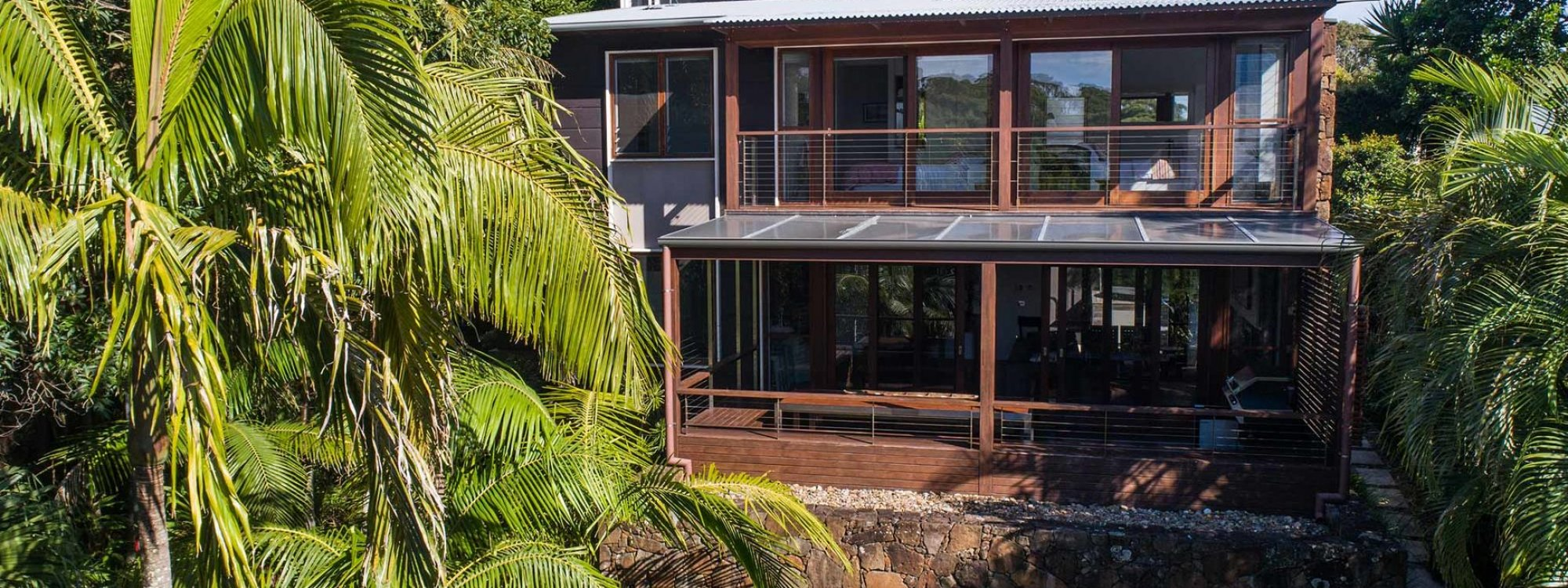 Ayana Byron Bay - front of house by day