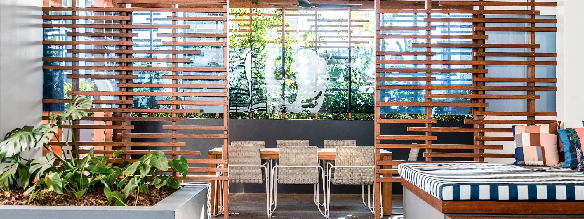 Adam and Eve - Brisbane - Common Area Outdoor Seating