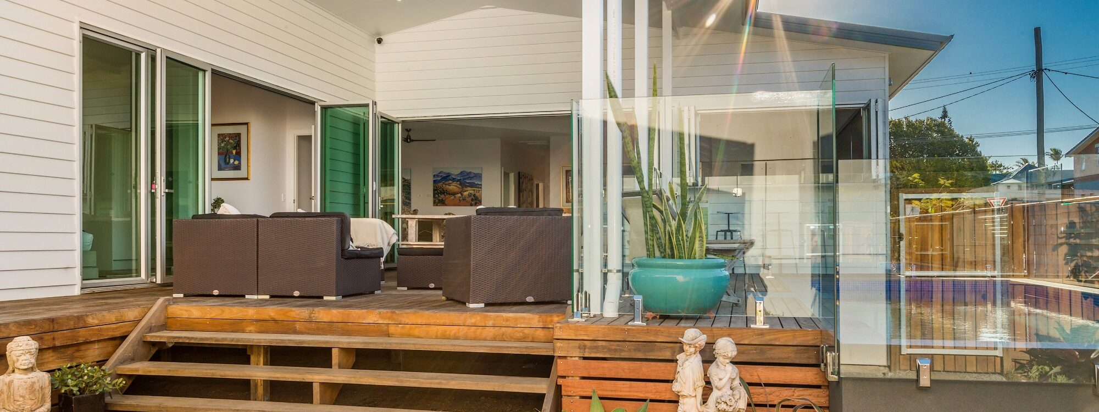 Aditi - back deck area