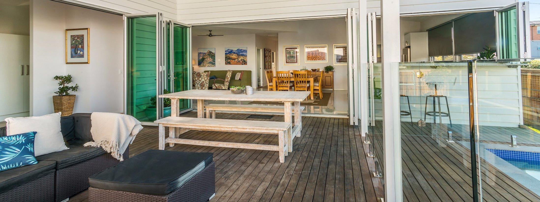 Aditi - back deck