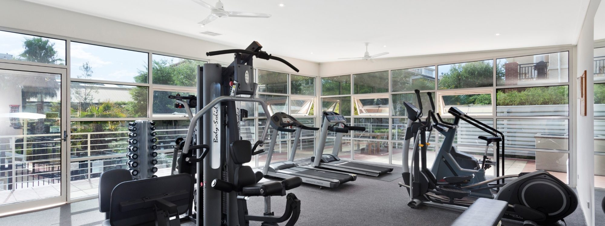 Alberts on Esplanade - Port Melbourne - Gym onsite