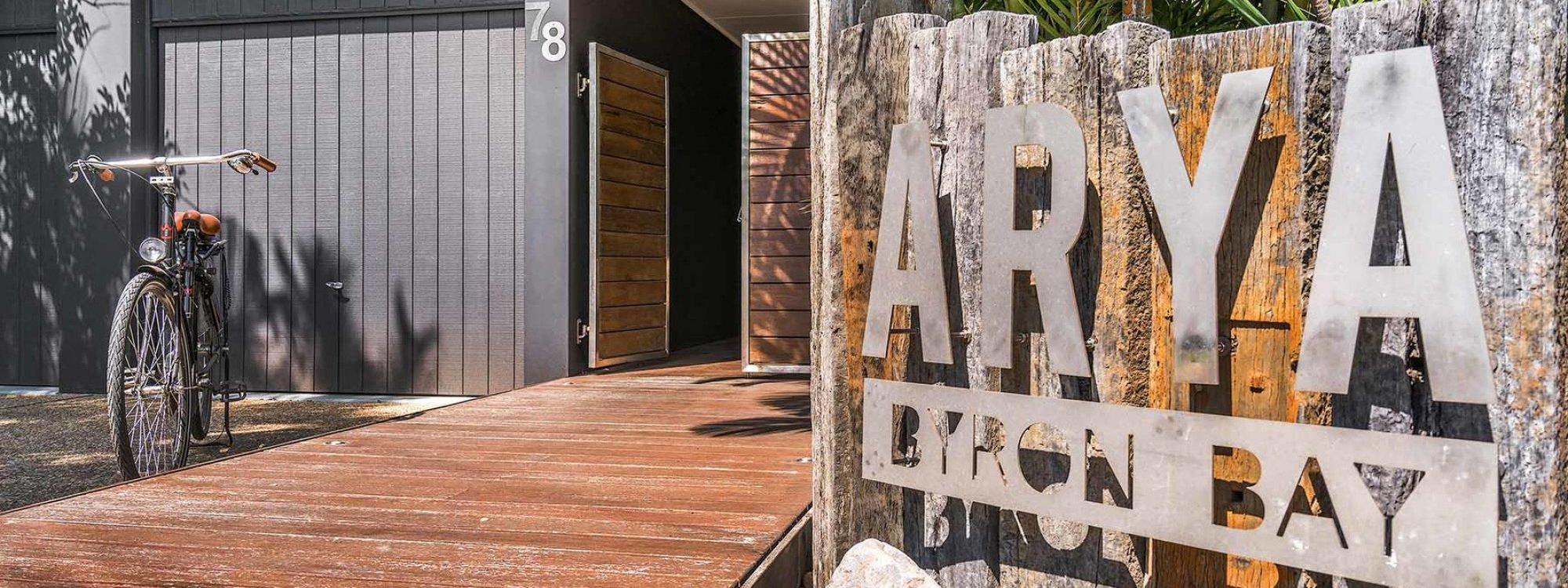 Arya - Byron Bay - Front of House b