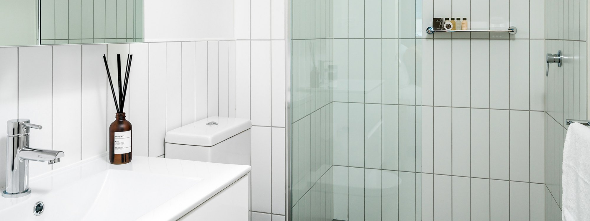 Axel Apartments - The Anderson - Glen Iris - Ensuite Bathroom