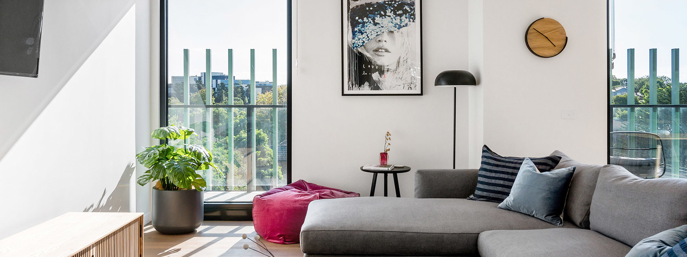Axel Apartments 203 The Bonfield - Glen Iris - Living b